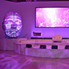 Ultra modern event design provides artistic approach to major corporate New York City event