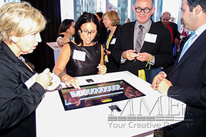 event touch table technology