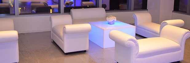 Custom furniture & décor rentals for private events and functions in the NYC area